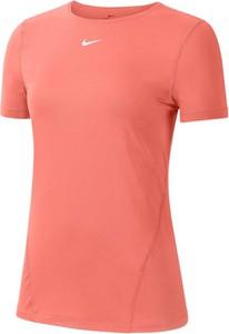 T-shirt Nike w sportowym stylu z okrągłym dekoltem z krótkim rękawem