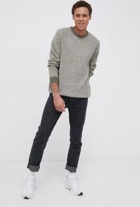 Sweter Wrangler z wełny w stylu casual