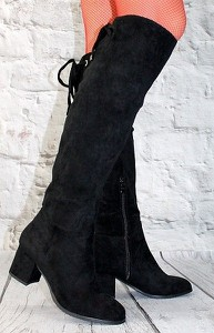 6e71f491b5af3 buty damskie kozaki zamszowe - stylowo i modnie z Allani