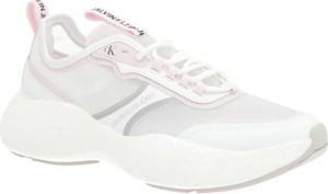 Buty sportowe Calvin Klein ze skóry sznurowane