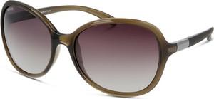 Brązowe okulary damskie Unofficial