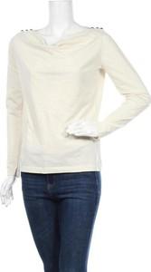 Bluzka Skfk z długim rękawem w stylu casual z okrągłym dekoltem