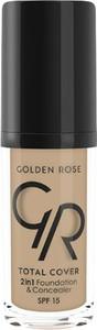 Golden Rose Total Cover Podkład i Korektor do twarzy 2w1 06 30ml