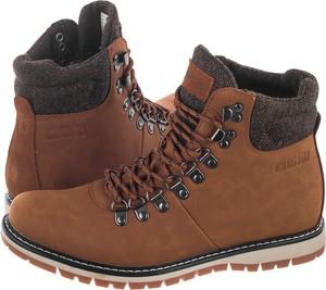 Brązowe buty trekkingowe Big Star sznurowane