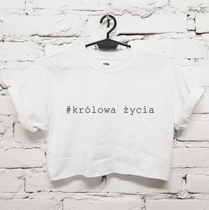 T-shirt Time For Fashion w młodzieżowym stylu z bawełny