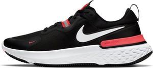 Czarne buty sportowe Nike sznurowane z tkaniny