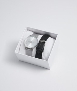 Diverse Zegarek DUETO Srebrny -