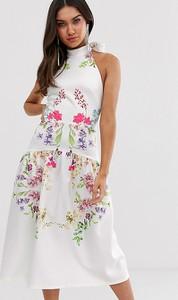 Sukienka True Violet oversize midi