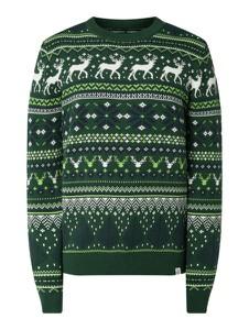 Zielony sweter McNeal z bawełny