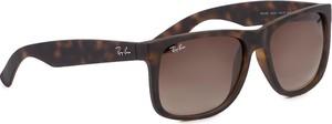 Okulary przeciwsłoneczne RAY-BAN - Justin 0RB4165 710/13 Brown/Brown