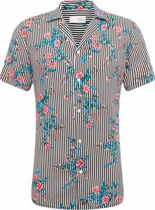 Koszula Solid z klasycznym kołnierzykiem z krótkim rękawem