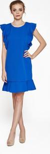 Niebieska sukienka 4myself oversize