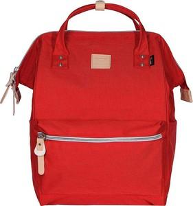 Czerwony plecak męski Himawari z tkaniny