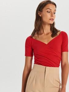 Bluzka Cropp z krótkim rękawem w młodzieżowym stylu