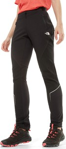 Czarne spodnie The North Face z tkaniny