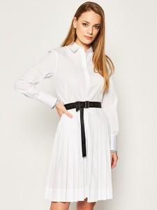 Sukienka Karl Lagerfeld koszulowa z długim rękawem w stylu casual