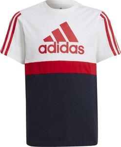 Koszulka dziecięca Adidas z tkaniny dla chłopców