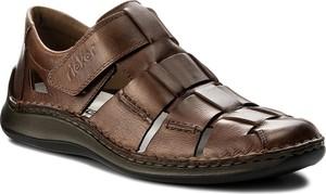 Sandały rieker - 05273-25 brown
