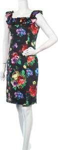 Sukienka Love Moschino z okrągłym dekoltem mini bez rękawów
