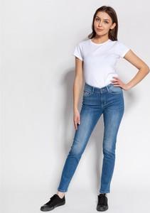Niebieskie jeansy Lee Cooper z bawełny
