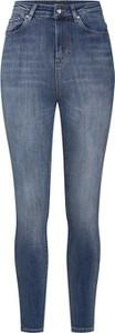 Niebieskie jeansy Only w street stylu