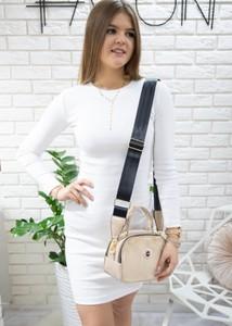 Sukienka Fason mini z bawełny w stylu casual