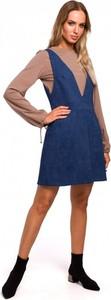 Sukienka MOE bez rękawów mini w stylu casual