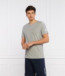 T-shirt Calvin Klein w stylu casual z krótkim rękawem