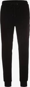 Czarne spodnie sportowe Scotch & Soda z dresówki