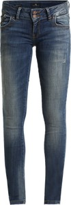 Granatowe jeansy ltb z jeansu