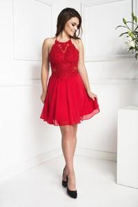 Sukienka Marcelini z satyny