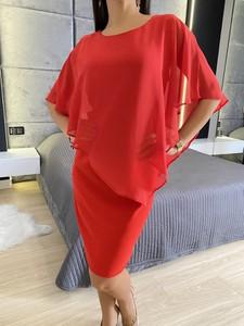 Sukienka ModnaKiecka.pl w stylu casual z długim rękawem mini
