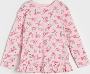 Bluzka dziecięca Sinsay z bawełny