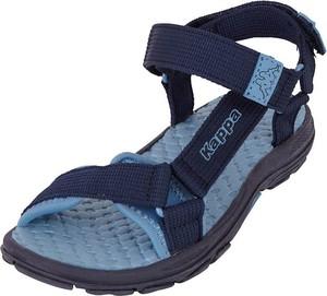 Granatowe buty dziecięce letnie Kappa ze skóry
