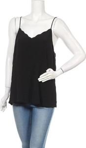 Czarna bluzka Lily Loves z dekoltem w kształcie litery v