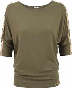 Zielona bluzka L'AF z tkaniny