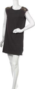 Czarna sukienka Women'S Secret mini z okrągłym dekoltem bez rękawów