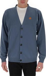 Niebieski sweter Kenzo w stylu casual z bawełny