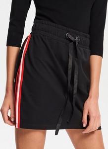 Czarna spódnica Reserved z dzianiny