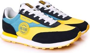 Buty sportowe Big Star sznurowane z zamszu w sportowym stylu