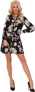 Sukienka MERRIBEL szmizjerka mini
