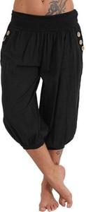 Czarne spodnie Cikelly z bawełny