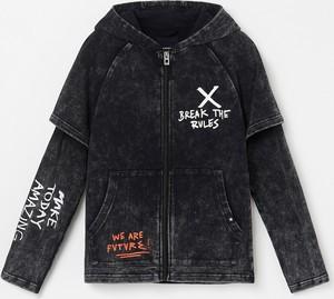 Czarna bluza dziecięca Reserved