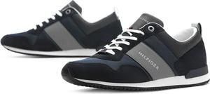 Buty sportowe Tommy Hilfiger z zamszu sznurowane