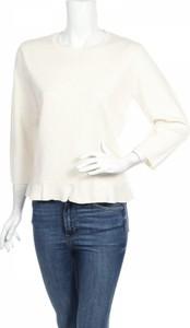 Bluzka Rodier z okrągłym dekoltem z długim rękawem w stylu casual