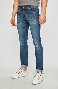Niebieskie jeansy Guess Jeans z bawełny