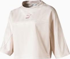 T-shirt Puma z żakardu