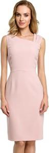 Różowa sukienka Made Of Emotion bez rękawów