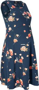 Niebieska sukienka bonprix bpc bonprix collection w stylu casual