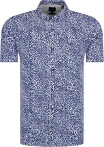 Koszula Armani Jeans z krótkim rękawem w młodzieżowym stylu